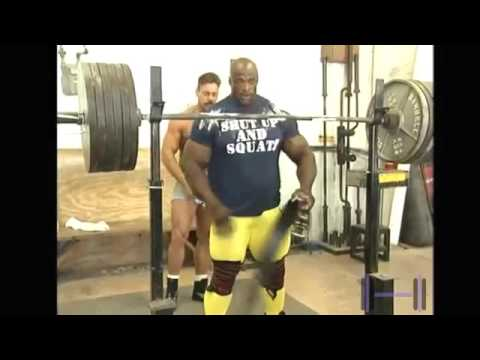 Ronnie Coleman Leg workout ...
