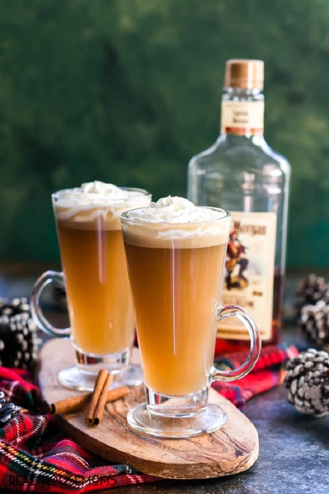 slow cooker hot buttered rum