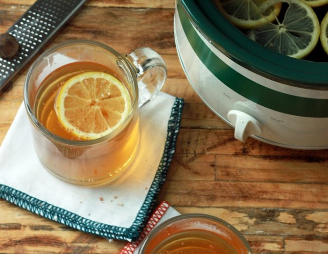 slow cooker hot toddy